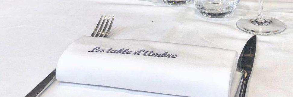 La Table D Ambre Restaurant Francais