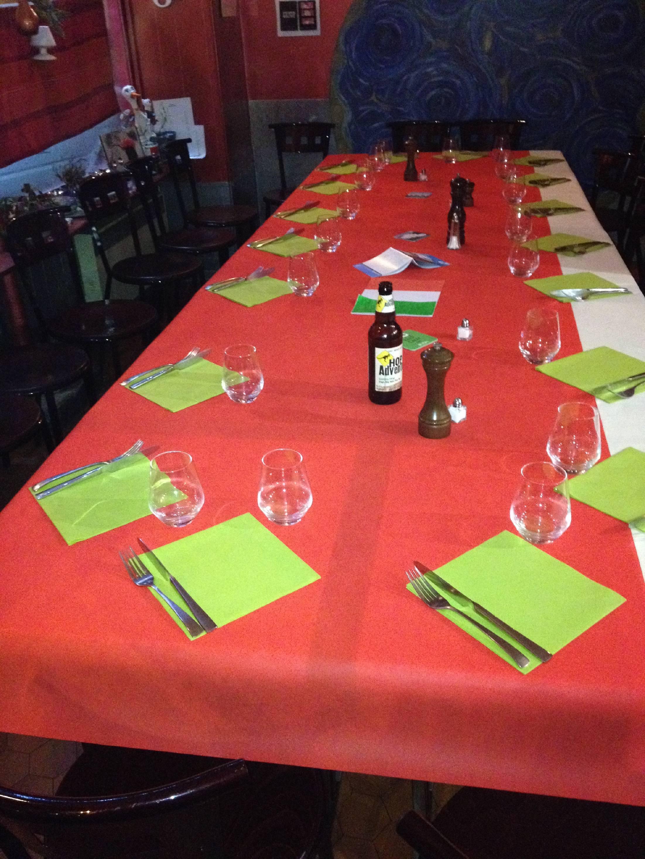 Table d'hôtes à 18 €