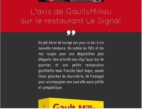 L'AVIS DE GAULT&MILLAU
